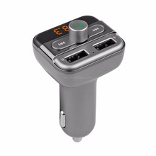 Bluetooth Wireless Kit Car handsfree USB Car Charger with Fm Transmitter