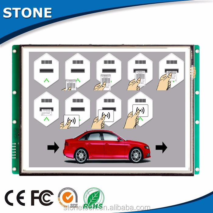3.5 inch 480x320 rim tft lcd display with for parking system