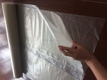 Low Denstiy Polyethylene 100% recycled clear 6mil plastic construction sheets for america