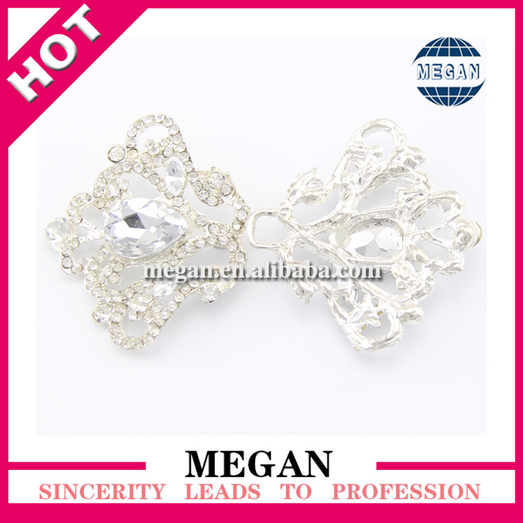 Jewelry rhinestone personalized buckle hair buckle for decoration