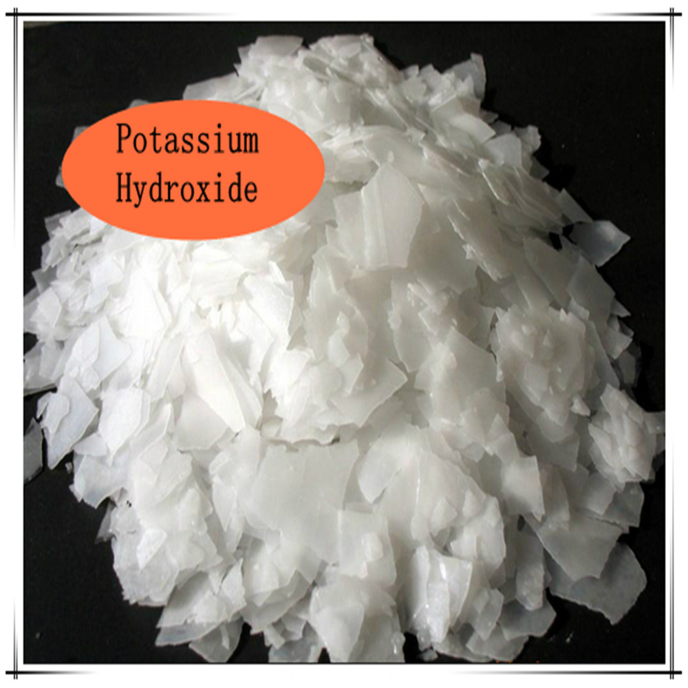 Wholesale price white flakes 90% potassium hydroxide for soap making