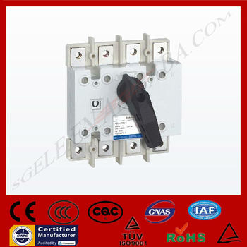 Isolation Switch load isolation switch manual changeover switch 4p3pole