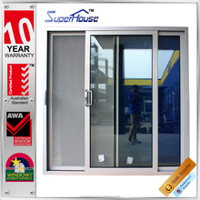 entry door aluminum sliding door and window aluminum frames prevention of burglary sliding door with retractable glass for hotel