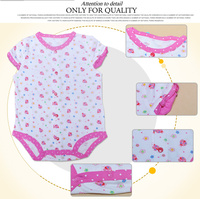 Japanese high quality cute and colorful newborn china online shopping baby clothes BB053