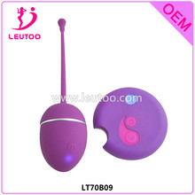 New Arrivals Silicone Remote Control Vibrating Eggs, Bullet Vibrator for Vagina Sex Toy, Silicone Sex Toy Erotic Sex Product