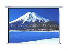 "Cheapest Factory Price of 200"" electric projector screen"