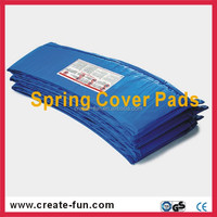 Upper jumping trampoline parts spring cover pads