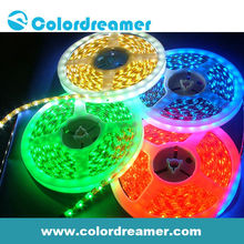 White/Black/Transparent dmx led flexible strip light