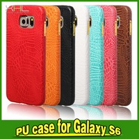 Modern OEM case for samsung for galaxy s6 leather