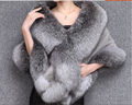 mink shawl with fox fur collar170209-01