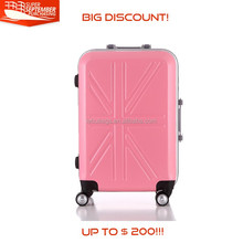 "20"" 24"" 28"" 3 pcs abs trolley travelling luggage set"