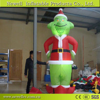Newest wholesale inflatable grinch decoration for sale
