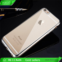 Clear TPU Slim cell phone covers for iphone 6 case