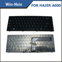 High quality new repalcement us black laptop keyboard for Haier C600 C600G A600 keyboard