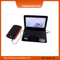 23000mAh Solar Laptop Power Bank External Battery Charger for laptop / tablet / smartphone
