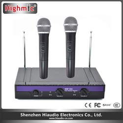 Handheld Wireless Microphone Dynamic Capsule Family Party Balanced+Unbalanced Output Wireless Microphone VHF-102