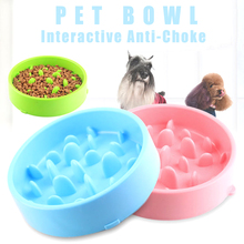 Factory Spot Healthy Dog Slow Feeder, Dog Anti Choking Slow Bowl with Non-slip Block at the Bottom