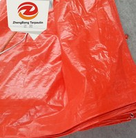 Promotional Blue/orange/green Pe Tarpaulin Sheet For Tent