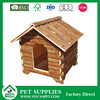 outdoor Natural wooden dog kennel fence panel