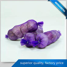 Effect assurance opt eco-friendly vegetable pp elastic mesh bags