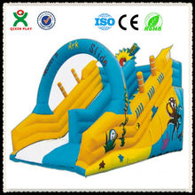 2013 jumping castles inflatable water slide/inflatable bouncer QX-11097G