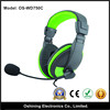 Wholesale Wired Stereo Headphone Player For Mp3(OS-WD750C)