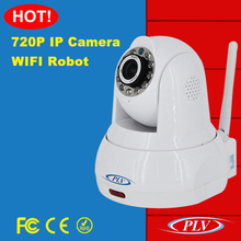 high quality p2p wireless indoor and outdoor hd wifi ip camera 720p robot camera