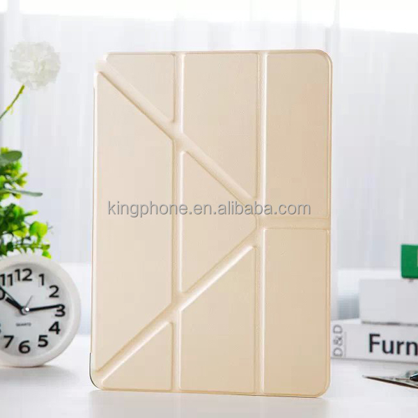 Free deformation case leather flip case protective back cover for ipad air2