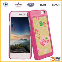 china supplier leather back case cover for oppo joy 3