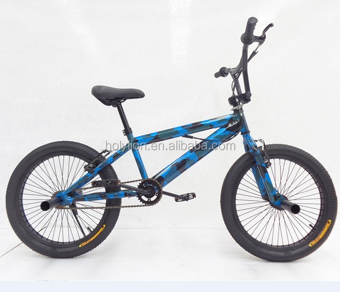 Free style bicycle with steel frame HL-F003