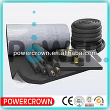 black foam rubber sheets/ soft foam rubber tube/ foam rubber making machine