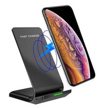 Amazon Hot Sell Universal Wireless Charger 10W Fast Qi Wireless Charging Pad For Smart <strong>Mobile</strong> <strong>Phone</strong> With Dock Non-Slip Pad