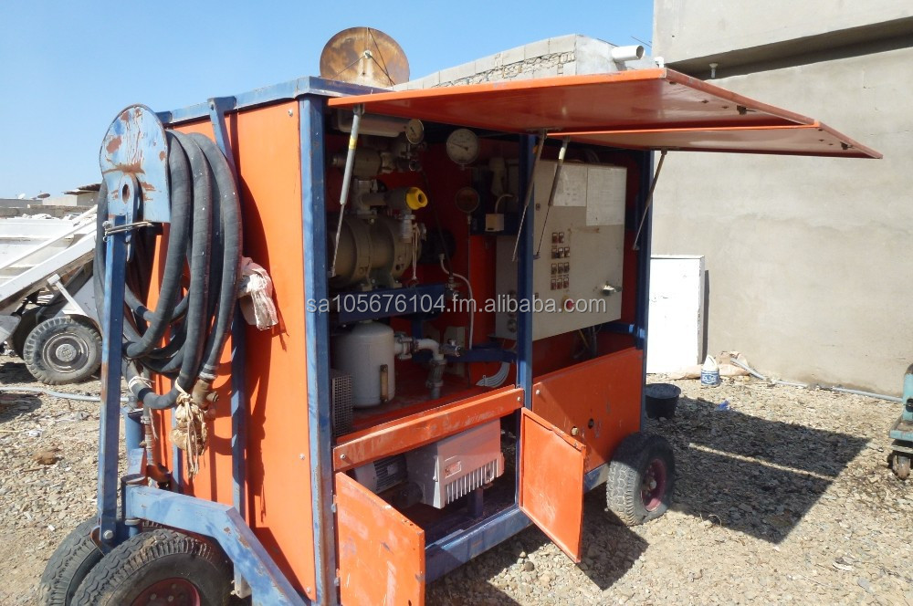 TRANSFORMER OIL PORTABLE FILTER UNIT