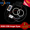 COB Angel Eyes Multi-Color RGB LED Halo Rings 60mm 70mm 80mm 85mm 90mm 95mm 100mm 105mm 110mm 120mm