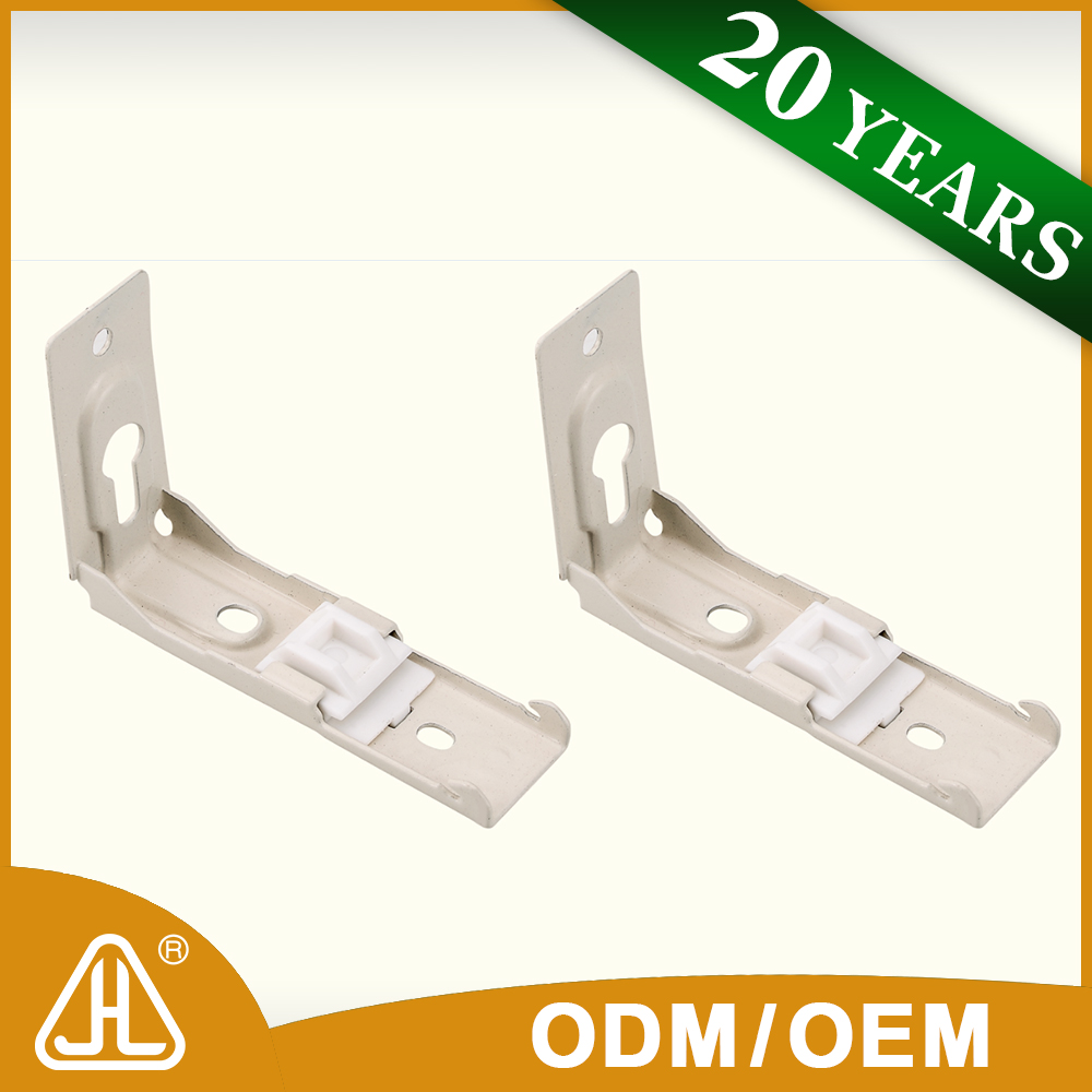Oem Factory China Low Price Iron Curtain Rod Wall Brackets
