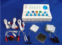 Portable 6 Channel Electronic Pulse Massager Acupuncture Stimulators with CE and FDA