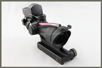 GL4X32C-2 military riflescope, optics hunting sight with red dot sight