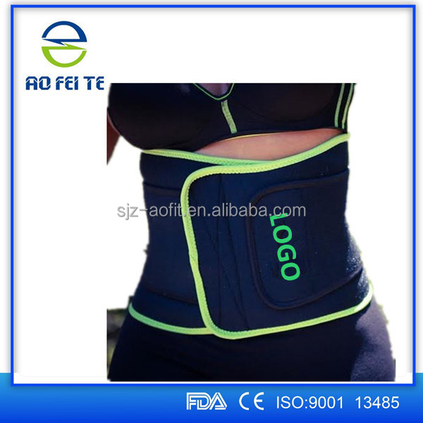 Slimming Tummy Trainer Fat Burner Accelerator Sauna Slimming Belt