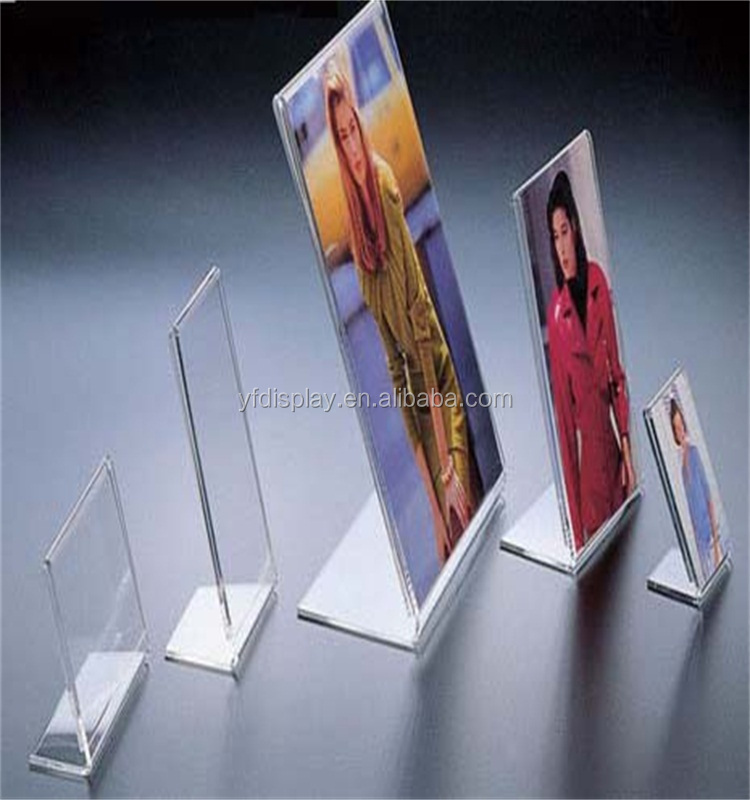 L-shape Acrylic Picture Frame