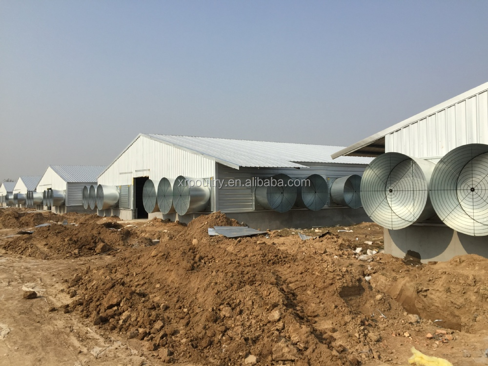 turnkey environmental controlled broiler house