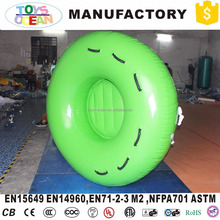 PVC Inflatable Water Rider Round Towable Snow Tube