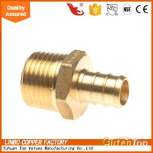 GutenTop High Quality Hot Sales Wholesale Brass compression flexible pex pipe fitting/ brass hydraulic hose fitting