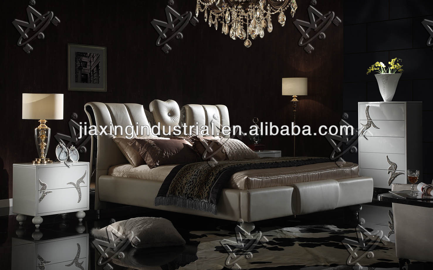 high quality cool bed for sale / pictures of designer bed for sale H1290