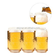 330ml Colored Beer Drinking Glass With Emboss Logo
