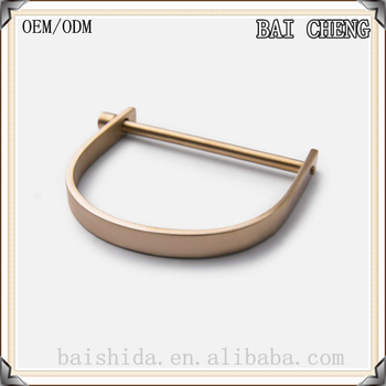 Characteristic Semicircle stainless steel bracelet with D buckle