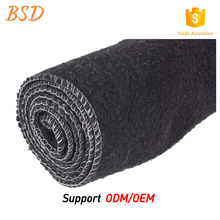 Best quality hard grey polyester furniture blanket felt fabrics pad for mattress material