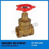 Top 200WOG Brass Non Rising Stem Gate Valve