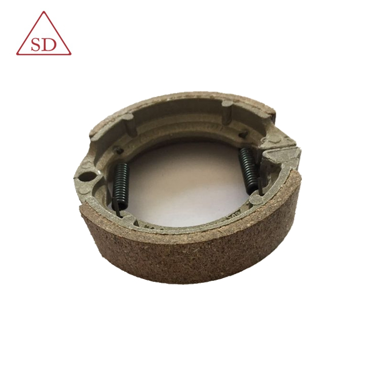 High performance spare parts customizable motorcycle brake shoe
