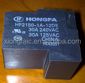 lot Power relays HF2150-1A-5DE HF2150-1A-12DE HF2150-1A-18DE 30A240VAC 4PIN A group of normally open