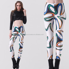 2014 Fashion High Quality Sex Girl Custom Printed Japan Girl Sexy Leggings/Pantyhose/Tights With Elastic Waistband